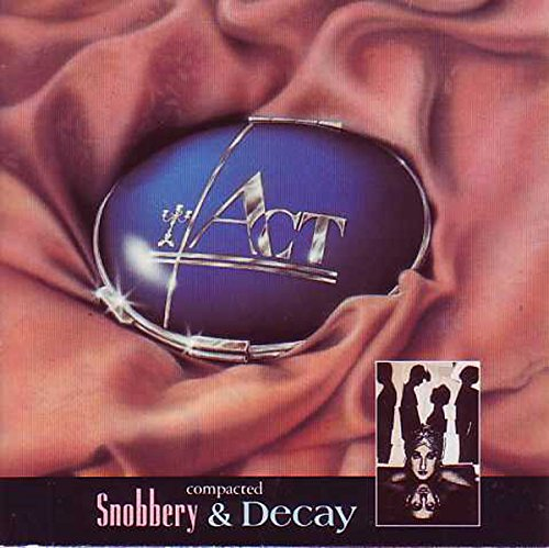 Snobbery & Decay 4-Track GATEFOLD CARD SLEEVE - 1 Snobbery & Decay (Extended, For Stephanie Beacham) Arranged By [Strings] - David Bedford 8:36 2 I'd Be Surprisingly Good For You arranged By [Strings] - David BedfordWritten-By - Lloyd Webber*, Rice* 4:07 3 Poison 3:55 4 (Theme From) Snobbery & Decay Piano [Played By] - Chris Senior 3:22 - CDSINGLE