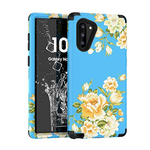 Price comparison product image Fewear for Samsung Galaxy Note10 6.3 Inch Luxury Hard PC Protective Case Cover (Blue)