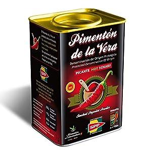 Paprika Fumé Piquant, 175g. 0rigine Produit Espagnol Appellation d'Origine Protégée