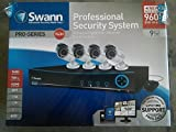 Swann SWDVK-942004-US 9 Channel 960H Digital Video Recorder and 4 x PRO-642 Cameras (Black/White)