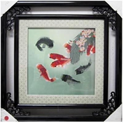 Koi Carp Design Photo Frame 6x4 Landscape or Portrait Free Standing Gift
