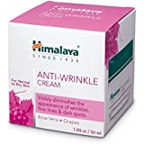 Himalaya Anti-Wrinkle Cream with Grapes and Aloe Vera,Reduces wrinkles,Fine Lines and Age Spots,1.69 oz/50ml