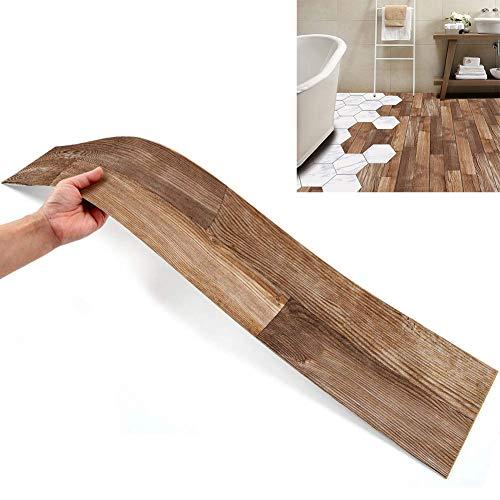 14 stück Boden Aufkleber DIY Fliesen Aufkleber, Muster Stil Boden Fliesen Fliesen Farbe wasserdicht für Küche Boden Badezimmer Wohnzimmer-1stück 6,1 x 36,02 Zoll (Stil 3)