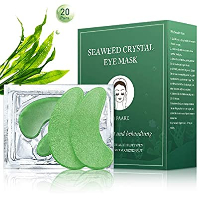 Phichy Under Eye Mask, Collagen Under Eye Patches, New Upgrade eye masks skincare, Anti-Aging, Anti-Wrinkles and Fine Lines, Reducing Dark Circles, Puffy Eyes, Men and Women Moisturizing(20 Pairs) by Phichy