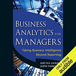Business Analytics for Managers audiobook cover art