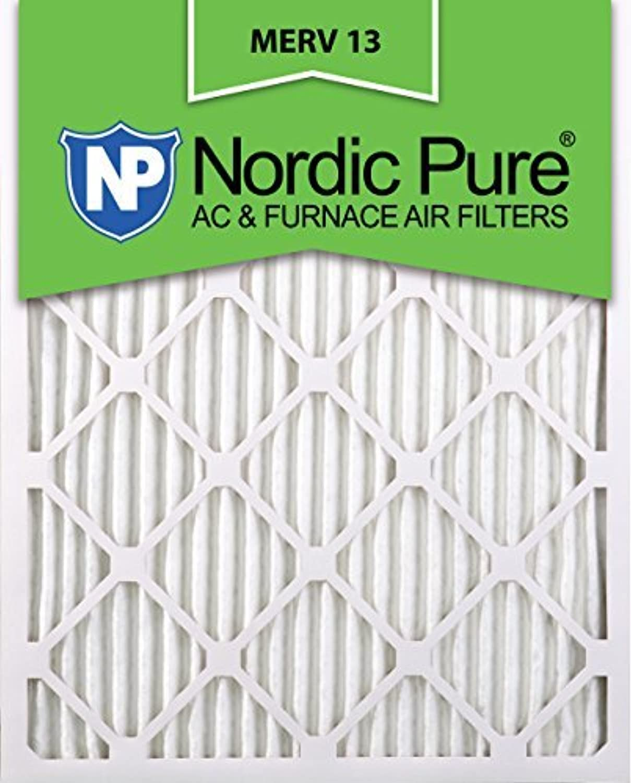 Nordic Pure 20x24x1M13-2 MERV 13 AC Furnace Filter 20x24x1 Pleated Merv 13 AC Furnace Filters Qty 2 [並行輸入品]
