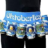 IUTOYYE Bier Gurtel Bierdosen-Gürtelhalter Bier-Holster Bierhalter Flaschenhalter Dosengürtel für...