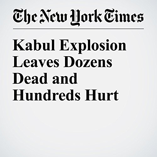 Kabul Explosion Leaves Dozens Dead and Hundreds Hurt cover art