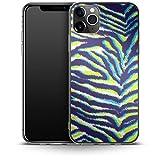 Tropical Cheetah - Carcasa de Silicona para iPhone 11 Pro MAX