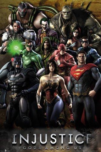 DC Comics Poster Grupo de la Injusticia