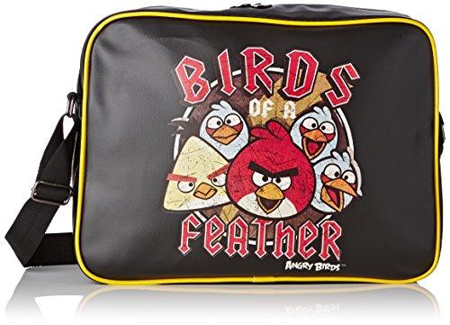 Angry Birds Reporter Shoulder Bag 39 cm (Black/Yellow)