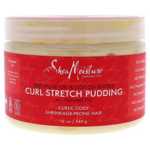 Shea Moisture Red Palm Oil and Cocoa Butter Curl Stretch Pudding Laque