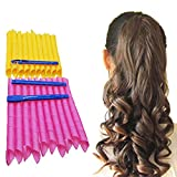Orgrimmar 20PCS Magic Hair Curlers Curls Styling Kit, DIY No Heat Hair Curlers for Extra Long Hair up to 22' (55 cm)