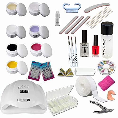 Kit de introducción Starter set Maryland para centros de belleza - Nail Set - Kit de...