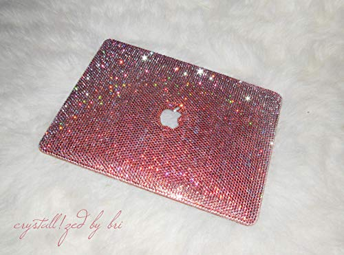 13' Mac Swarovski CRYSTALLIZED Laptop Case Macbook Custom Design Bling Crystals Apple Air Pro