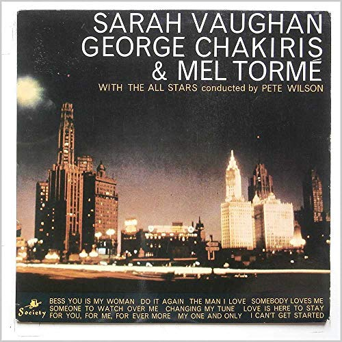Sarah Vaughn, George Chakiris and Mel Torme With The All Stars [LP]