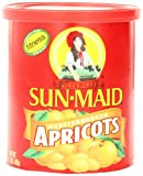 Sun Maid Mediterranean Apricots, 15-Ounce Canisters (Pack of 4)
