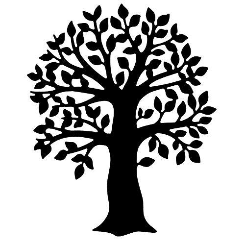 Präge-& Stanzschablone | Baum | 9,4 cm x 11,4 cm