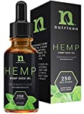 Best Hemp Oil for Sleep Aid – Natural Hemp Seed Oil Extract Drops for Sleep Support and Anxiety   Sleep Aid for Adults 250 mg of Hemp Oils