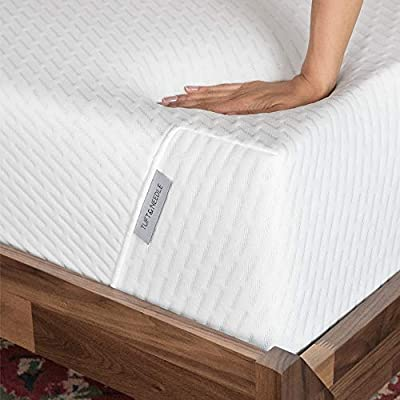 Tuft & Needle Mattress, Bed in a Box, T&N Adaptive Foam, Sleeps Cooler with More Pressure Relief & Support Than Memory Foam, Certi-PUR & Oeko-Tex 100 Certified, 10-Year Warranty.