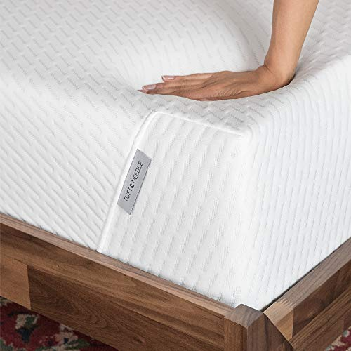 TUFT & NEEDLE Full Mattress | Bed in a Box | Utilizing Proprietary T&N Adaptive Foam | Sleeps Cooler with More Pressure Relief & Support Than Memory Foam | Non-Toxic Certified | 100-Night Sleep Trial | 10-Year Warranty