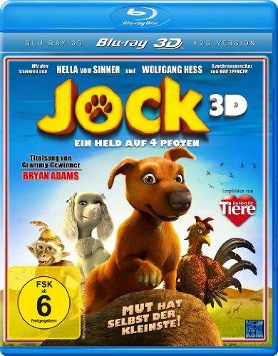 Jock - Ein Held auf 4 Pfoten 3D (+ 2D Version) [Blu-ray 3D]