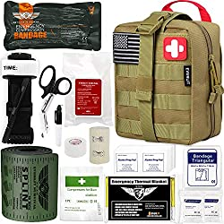 Everlit Emergency Trauma Kit IFAK Gift for a military father