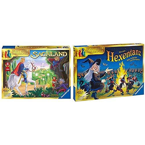 Ravensburger Familienspiel Sagaland, Gesellschaftsspiel für Kinder und Erwachsene, 2-6 Spieler, ab 6 Jahren, Spiel des Jahres & Spiele 26425 - Hexentanz