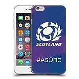 Head Case Designs Licenciado Oficialmente Scotland Rugby como uno Logotipo 2 Carcasa de Gel de Silicona Compatible con Apple iPhone 6 Plus/iPhone 6s Plus