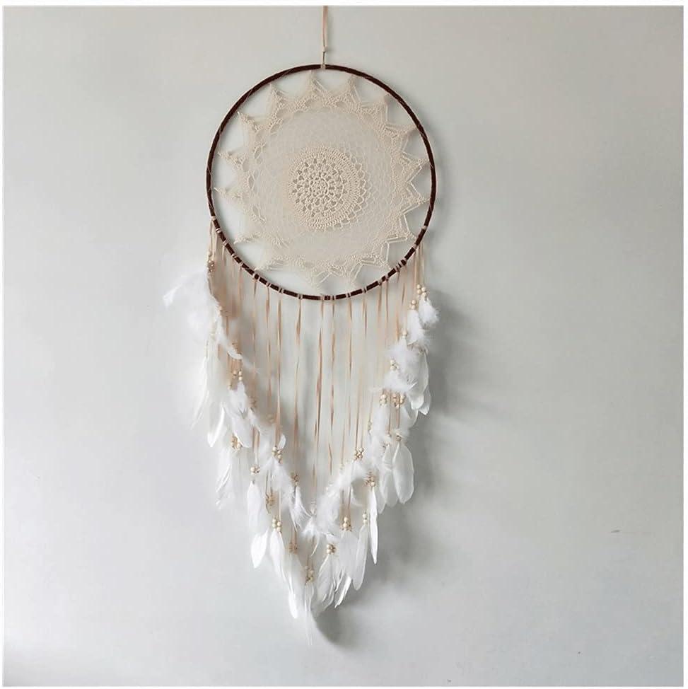 SHEDE Beige Cotton Handmade Dreamcatcher DIY Decorati half Decor Home Super sale