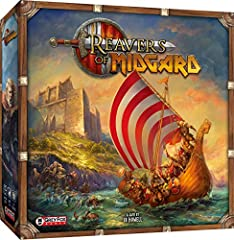 Reavers of Midgard is a strategy board game set in the award-winning Champions of Midgard universe. Battle sea monsters, raid keeps and villages, recruit powerful reavers, as you pursue varied paths to victory. Beautifully illustrated artwork immerse...