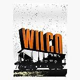Band Americana Music Wilco Wandkunst-Poster