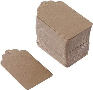 /no cuerda de c/á/ñamo/ /blanco vikenner 100/pcs flor forma c/írculo papel Kraft etiquetas regalo Price tarjetas favor etiqueta para boda fiesta de Navidad suministros/