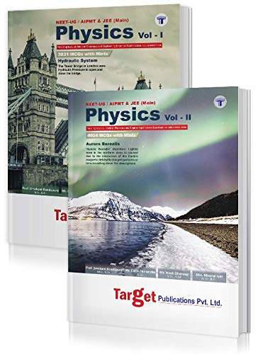 NEET UG / JEE Mains Absolute Physics Books Vol 1 and 2 Combo