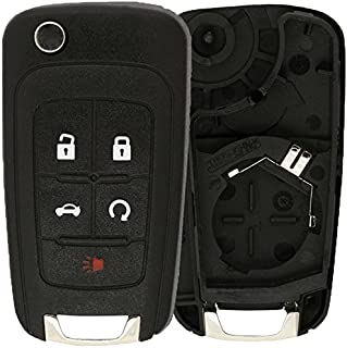 KeylessOption Just the Case Keyless Entry Remote Control Car Key Fob Shell Replacement For OHT01060512