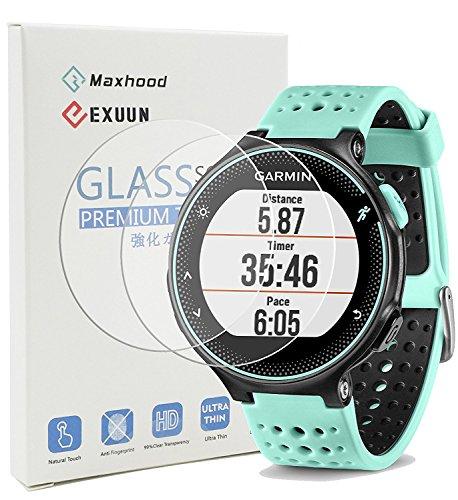 maxhood (2-Pack) Garmin Forerunner 235 225 630 620 230 220 Protector de...