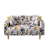 WXQY Funda de sofá elástica para Sala de Estar Funda de sofá elástica Antideslizante, Funda Protectora con Todo Incluido para sofá Universal Floral A2 de 4 plazas