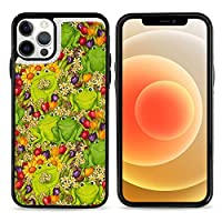 カエル 蛙 iPhone12 ケース 手帳型 おしゃれ かわいい 耐衝撃 カバー 高級PUレザー レンズ保護 脱着簡単 スリム 軽量 薄型 傷防止 指紋防止