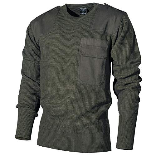 MFH klassischer Bundeswehr Pullover aus Polyacryl (Oliv/52)