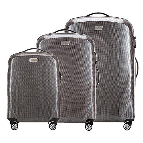 WITTCHEN Middelste koffer | Kleur: Bourgondië | Materiaal: Polycarbonaat | Afmetingen: 68 x 46 x 23 cm | Gewicht: 3