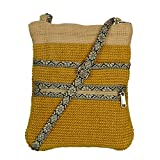 White Lotus Cross Body Hipster - Yellow (JB1003)