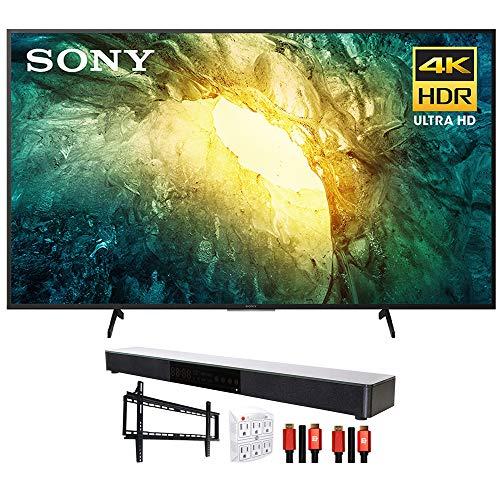 "Sony KD55X750H 55"" X750H 4K Ultra HD LED TV (2020) with Deco Gear Soundbar Bundle"