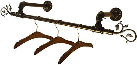 LXD Suspentes, Métal Mur Mounted Salle de N Chambre Hanging Serviette Bar/Vêtements Rod, Heavy Duty Etendoir/Mur Vêtements...