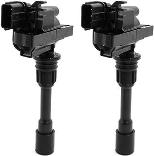 uxcell Set of 2 Ignition Coil for 2001-2003 Mazda Proteg 2002-2003 Mazda Protege5 L4 2.0L FP85-18-100C DC 12V