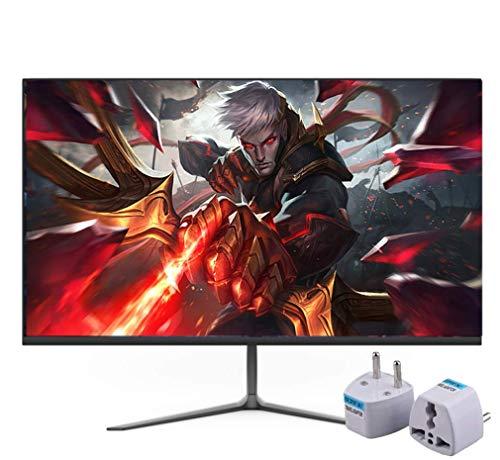 NOOYC 24 Pulgadas IPS con retroiluminación LED Monitor de Computadora - (Negro) 2 ms Tiempo de Respuesta, Full HD 1,920 X 1,080 75 Hz, HDMI VGA, Flicker Free, Micro-Borde,Black_24 Inch