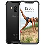 Blackview BV9600 PRO - Android 8.1 4G LTE Outdoor Smartphone,6.21' 19:9 FHD AMOLED Display (Ultra-Narrow Bezels),Helio P60 6GB+128GB,5580mAh Battery,IP68/IP69K Waterproof/Dustproof,NFC (Black)