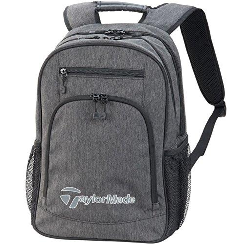 TaylorMade Golf 2018 Mens Classic Backpack Sports Bag / Gym Bag / Laptop Bag Grey/Black