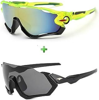Óculos de Sol Esportivo Casual Mtb Speed Kit 2 Unidades