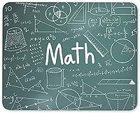 10 X 12インチ滑り止め耐久性マウスパッド、数学テーマ代数方程式マウスマットパッド-学校教師ギフトコンピューター