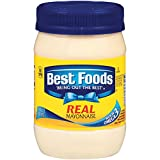 Enjoy the delicious creamy taste of best foods real mayonnaise Made with real simple ingredients, like cage-free eggs, oil, and vinegar The ideal condiment for spreading on sandwiches and wraps, grilling juicy burgers, mixing creamy dips, and prepari...